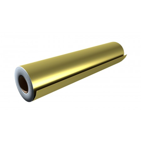 """Gloss Gold 24""""x50 Yards Unpunched"""