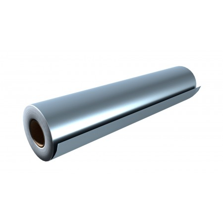 """Gloss Silver 15""""x50 Yards Punched"""