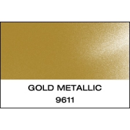 """K-Cast Gold Metallic 15"""" x 50 yds Punched"""