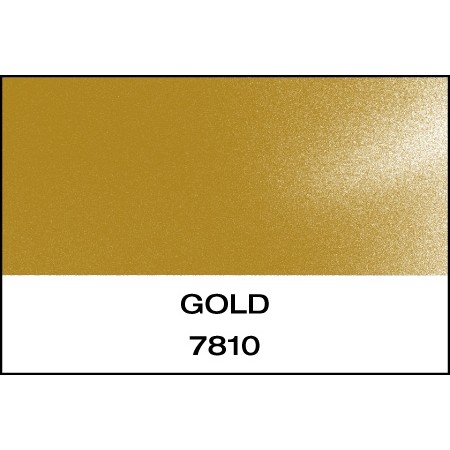"""Reflective 7 Year Gold 15""""x10 Yards Punched"""
