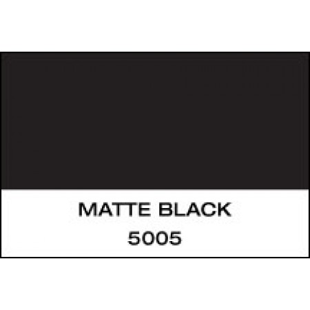 "5 Yr Vinyl Matte Black 60"" x 50 Yards"