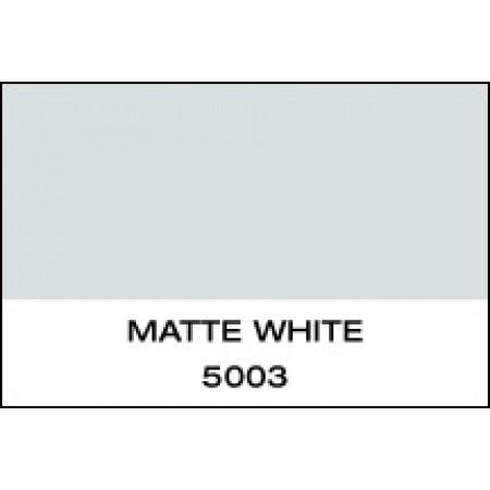 """5 Yr Vinyl Matte White 15""""x50 Yards Unpunched"""