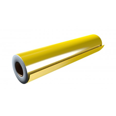 """Gloss Canary Yellow 30""""x50 Yards Unpunched"""