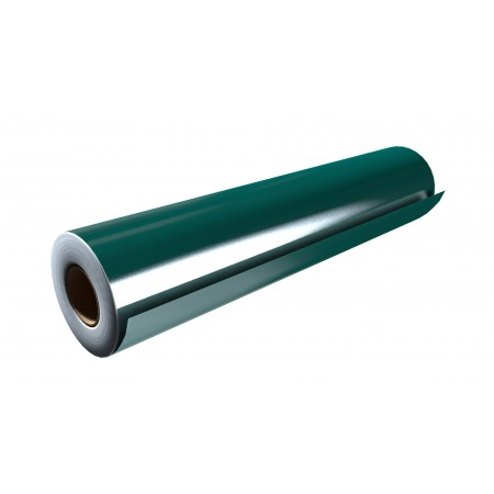 """Gloss Dark Green 15""""x50 Yards Punched"""