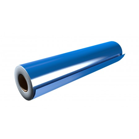 """Gloss Olympic Blue 30""""x50 Yards Punched"""