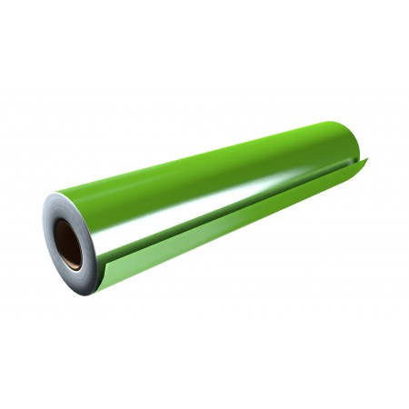 """Gloss Lime Green 30""""x50 Yards Punched"""