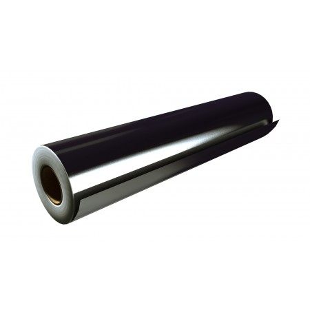 """Gloss Black 24""""x50 Yards Unpunched"""