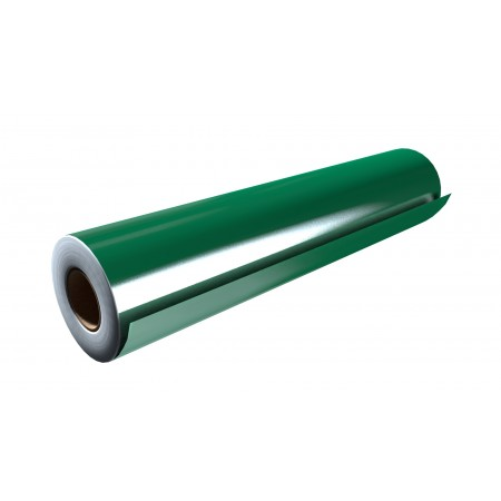 """Gloss Green 15""""x50 Yards Unpunched"""