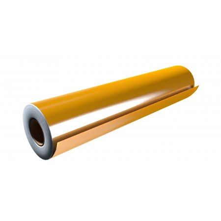 """Gloss Yellow 15""""x50 Yards Punched"""