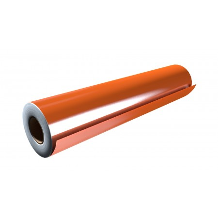 """Gloss Orange 15""""x50 Yards Punched"""