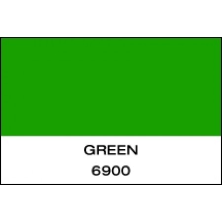 """Fluorescent Vinyl Green 15""""x10 Yards Punched"""