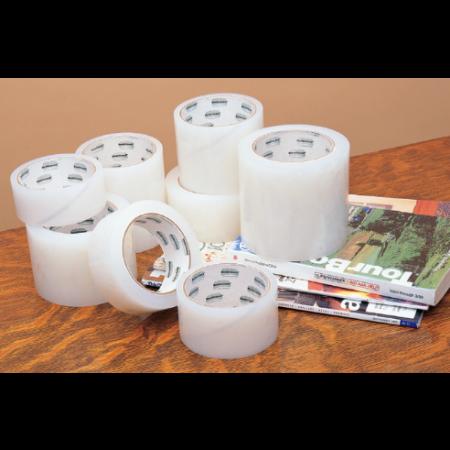 "Book Guard Book Tape 3.5mil Polyethylene 2""x45'  3"" core"