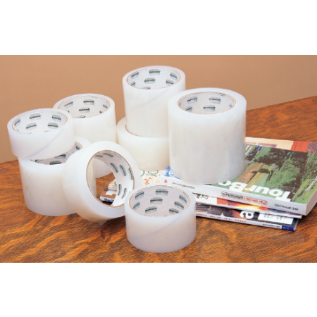 "Book Guard Book Tape 3.5mil Polyethylene 1 1/2""x45' 3"" core"