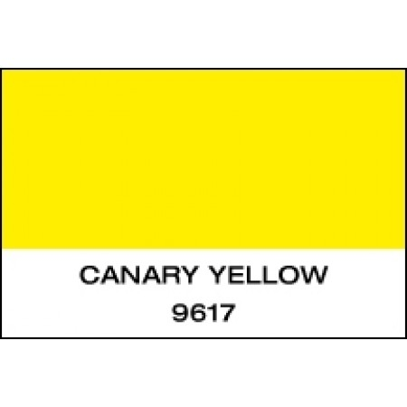 """K-Cast Canary Yellow 15"""" x 50 yds Punched"""