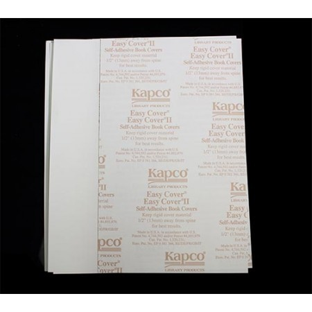 """Easy Cover Book Cover 12""""Hx8 1/2""""W 25 pairs/pkg"""