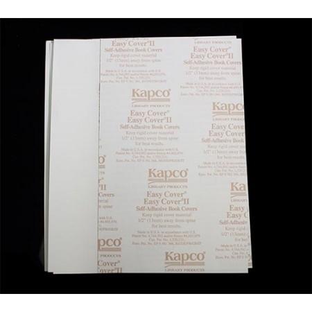 "Easy Cover Book Cover 10 1/2""Hx7""W 100 pairs/box"