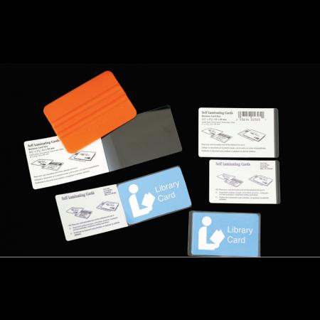 "Easy Kapsul Credit Card 16mil Laminate 2 1/8""x3 3/8"" 10/pkg"