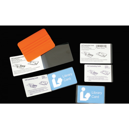 "Easy Kapsul Credit Card 16mil Laminate 2 1/8""x3 3/8"" 100/pkg"