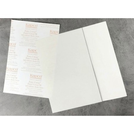 "Easy Cover II Book Cover 9""Hx10 1/2""W 100 pairs/box"