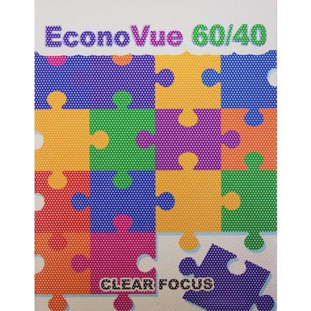 "Econovue Window Film 60/40 Perforation 54""x100' Short Term"