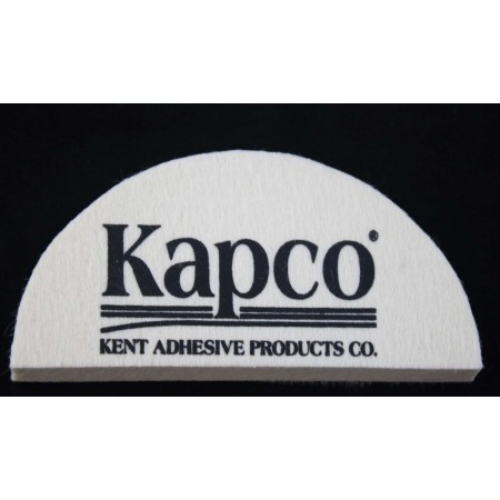 "Deluxe Felt Squeegee  2-1/2"" x 5"" - Kapco Logo"