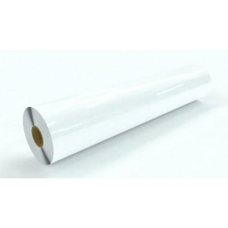 "3.5mil Gloss White Vinyl Gray Permanent Adhesive 60""x150'"