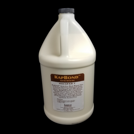 Kapbond Acid Free Glue One Gallon