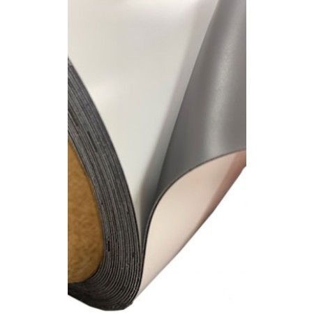 """Magnetic Material White .030"""" 24"""" x 50' Roll"""