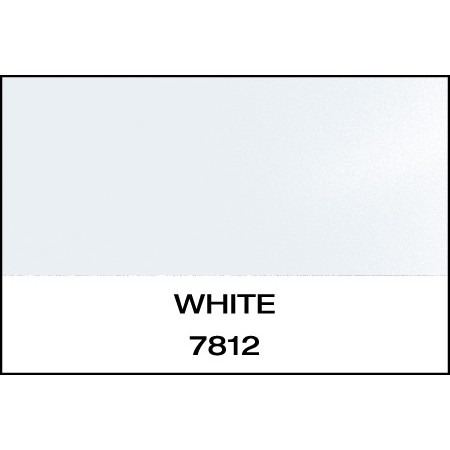 """Reflective 7 Year White 15""""x50 Yards Punched"""