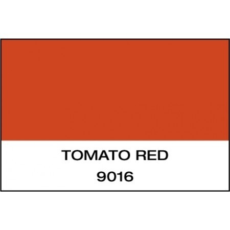 """Gloss Tomato Red 15""""x50 Yards Punched"""